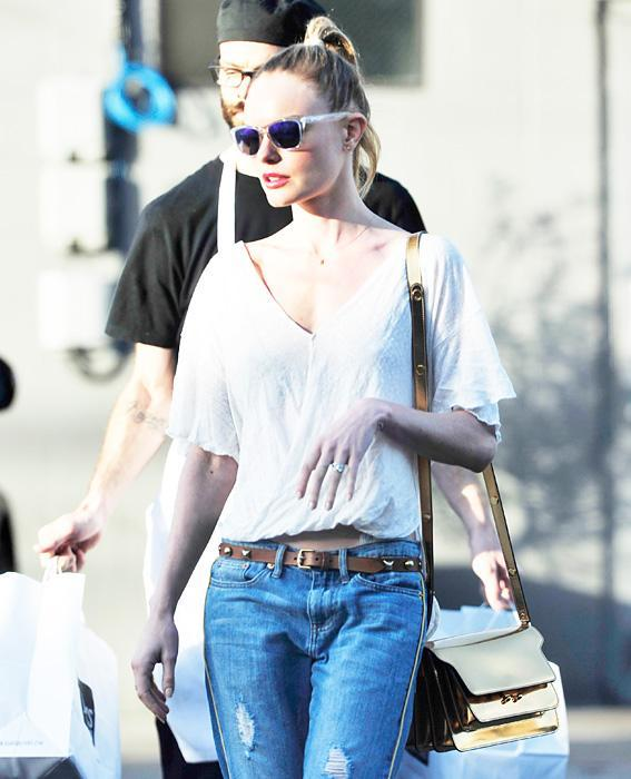 Kate Bosworth with Marni
