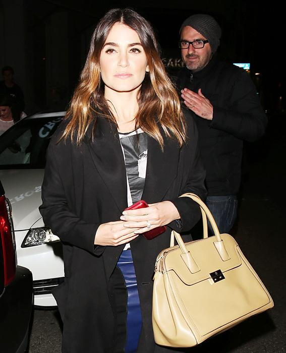 Nikki Reed with Tory Burch