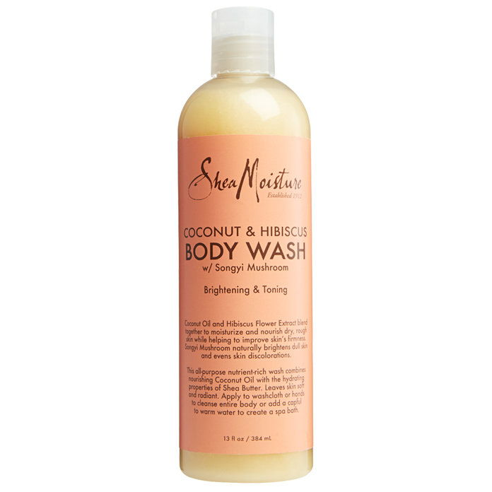SheaMoisture Coconut and Hibiscus Illuminating Body Wash