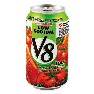 Ottenere Rid of Green with V8