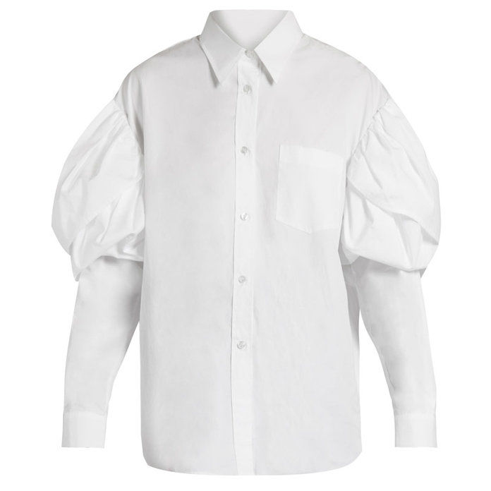 ONU twist on the classic button-down