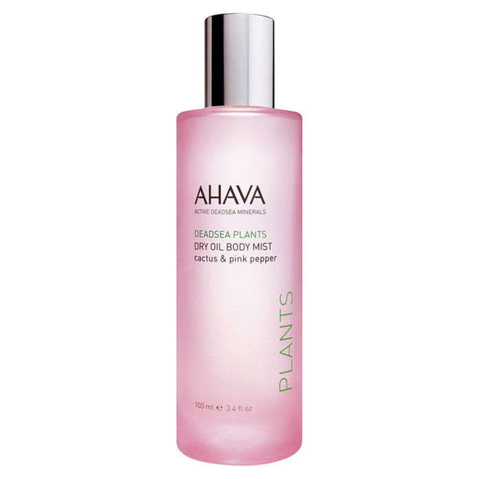 Ahava Dry Oil Body Mist In Cactus and Pink Pepper