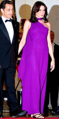 carla Bruni-Sarkozy, France, First Lady, Hermes