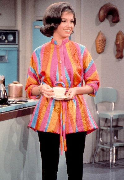 mary Tyler Moore - The Most Fashionable TV Housewives - The Dick Van Dyke Show
