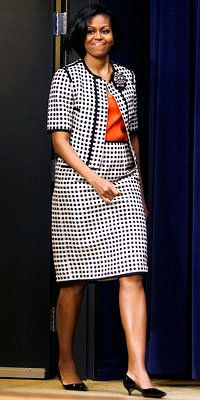 Michelle Obama - Narciso Rodriguez - Michelle Obama Style Diary