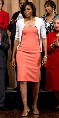 Michelle Obama Style Diary - Michelle Obama in Michael Kors