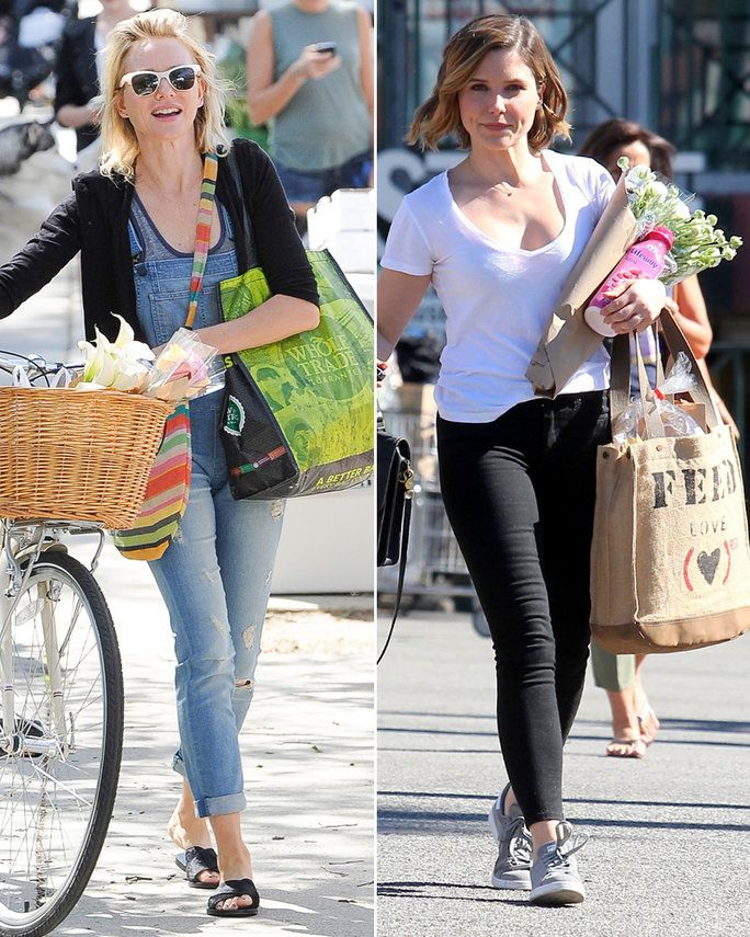 Celebs with Eco-Friendly Totes - Lead