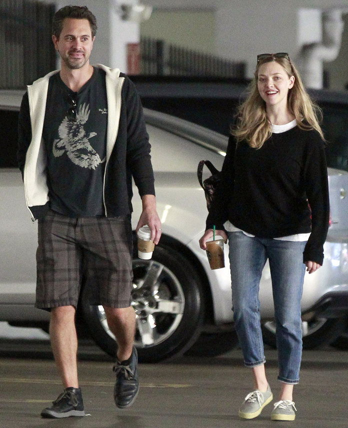 Amanda Seyfried Steps Out After Birth