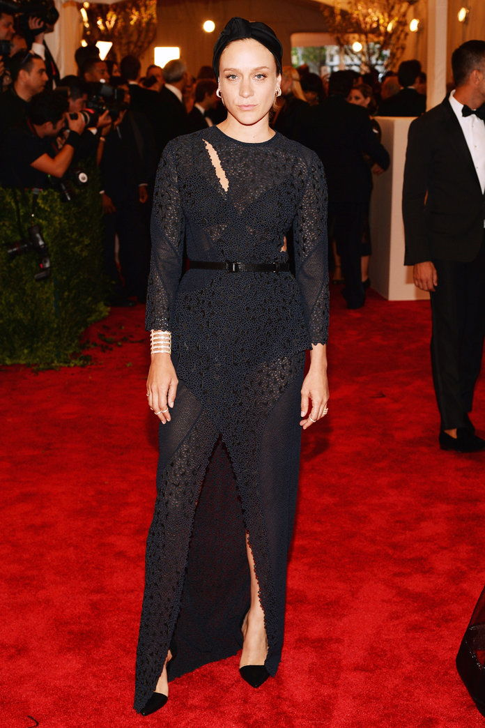 In Proenza Schouler at the Met Gala in N.Y.C., 2013