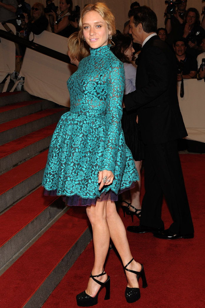 In Proenza Schouler at the Met Gala in N.Y.C., 2010