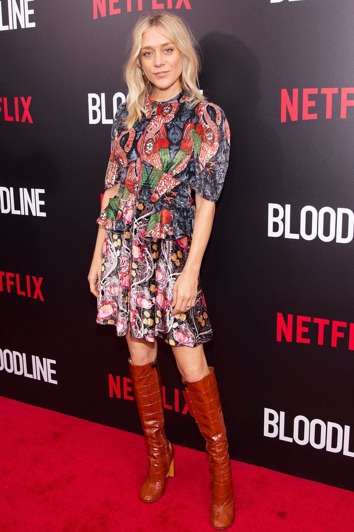 In Louis Vuitton at the Bloodline première in N.Y.C., 2015