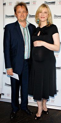 Cate Blanchett, Andrew Upton, Hollywood's Hottest Moms, maternity style, star style