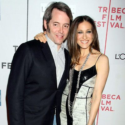 Matthew Broderick - Sarah Jessica Parker - twins = Who's Expecting? - Hollywood's Hottest Moms