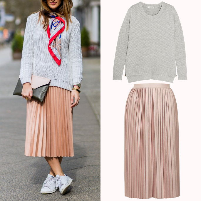 Skirt + Sweater Combos