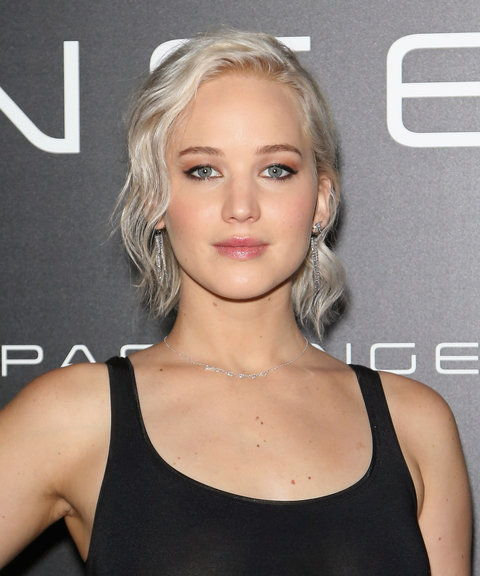 Jennifer Lawrence - Silver hair front