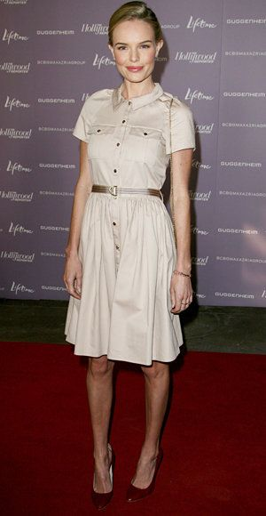 Elegante Summer Work Looks - Kate Bosworth - Mulberry