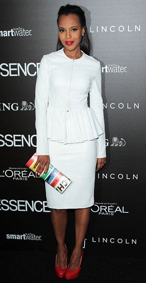 Elegante Summer Work Looks - Kerry Washington - Cushnie et Ochs