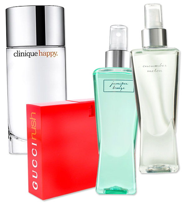 anni 90 Fragrances - Bath and Body Works - Clinique Happy