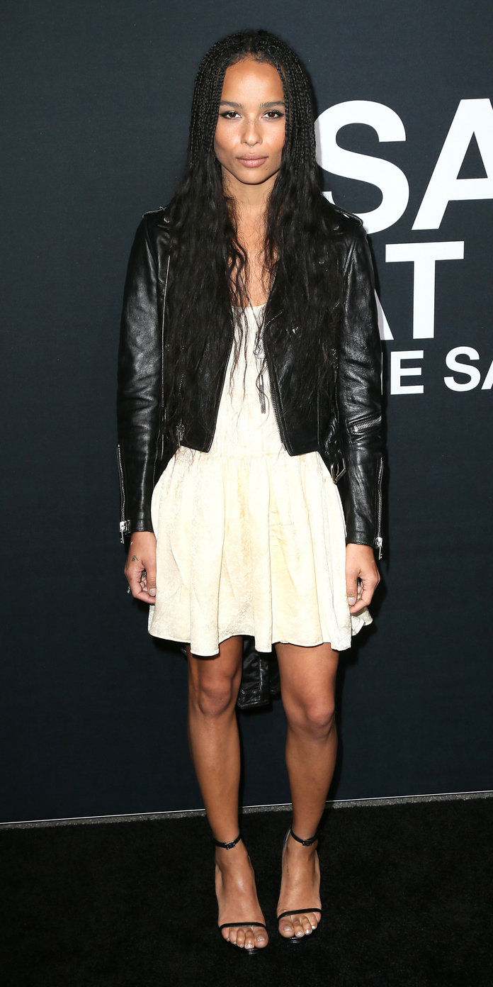 The Leather Jacket and Lightweight Dress