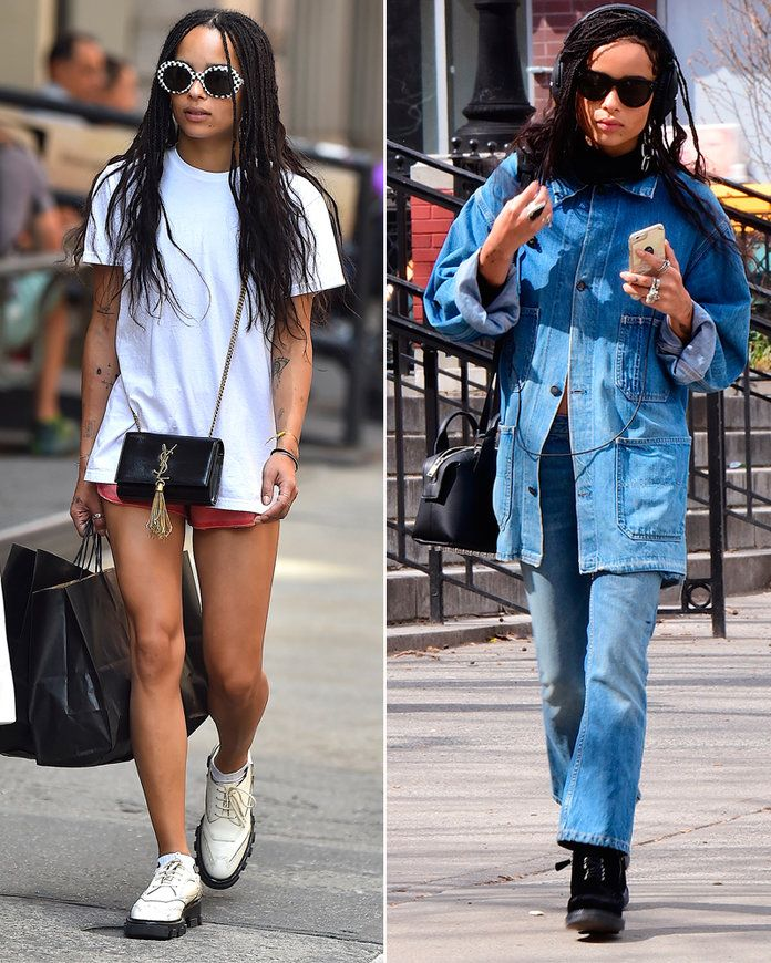 Zoe Kravitz Spring Looks - Lead