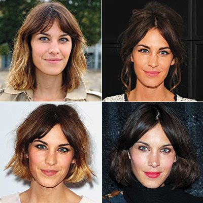 1 Good Haircut, 4 Ways- Alexa Chung
