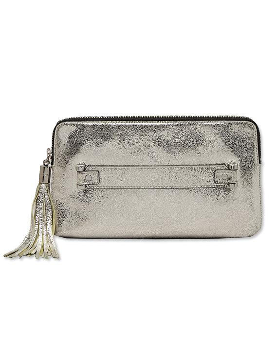 Metallico Milly clutch