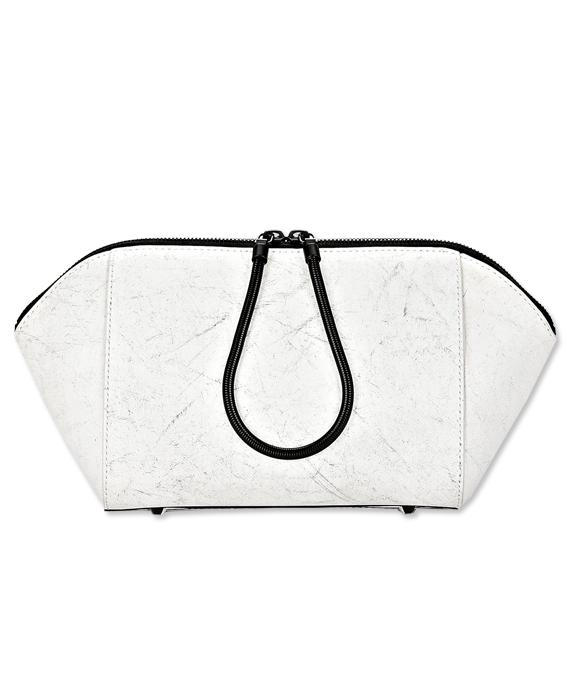 Nero and white Alexander Wang clutch