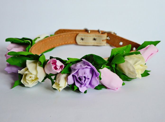 multicolore Rose Flower Collar