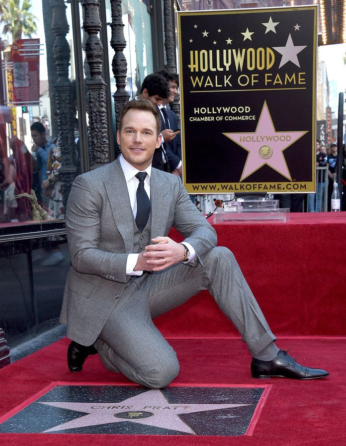 Chris Pratt Hollywood Walk of Fame - 3