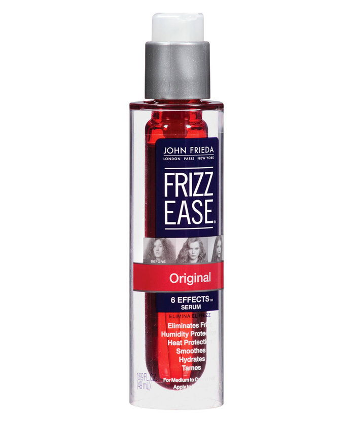 7 ways to fight frizz - John Frieda Frizz-Ease hair serum - Beauty Tips