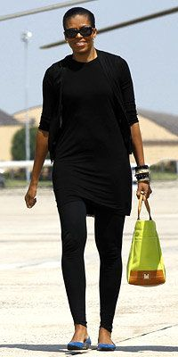Michelle Obama carrying Lambertson Truex - Michelle Obama Style Diary