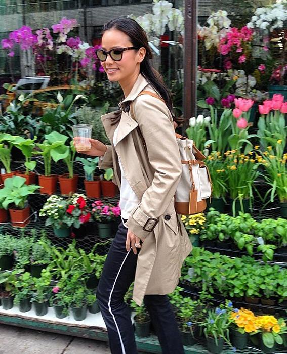 Jamie Chung with Cole Haan
