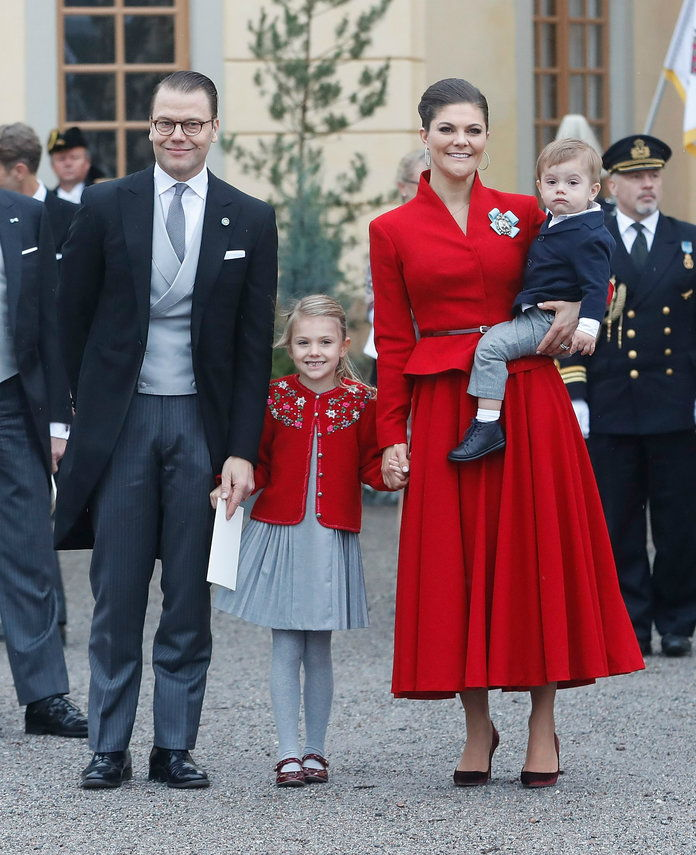 Principessa Estelle and Prince Oscar of Sweden