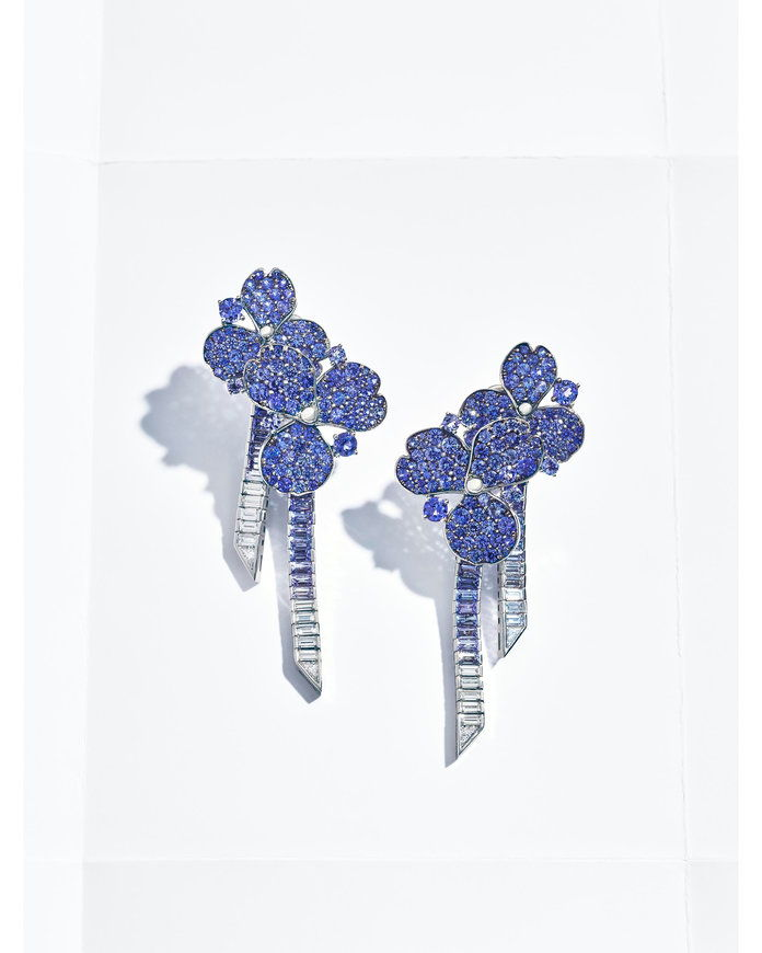 Tiffany's Paper Flower Earrings