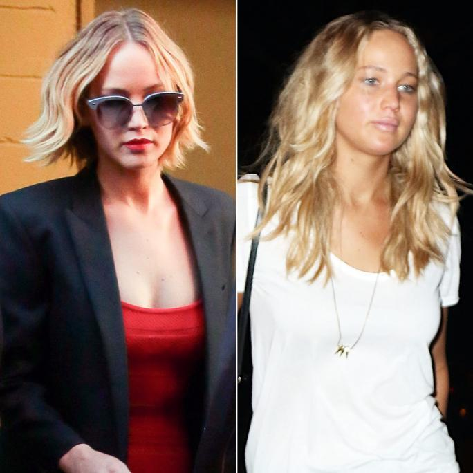 Jennifer Lawrence Hair Transformtion - Lead/Slide