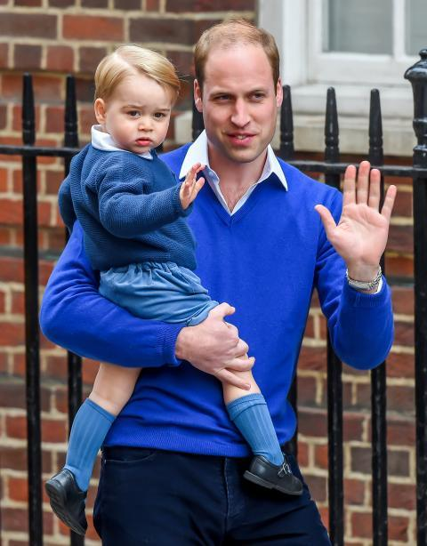 Il Duke And Duchess Of Cambridge Welcome Their Second Child