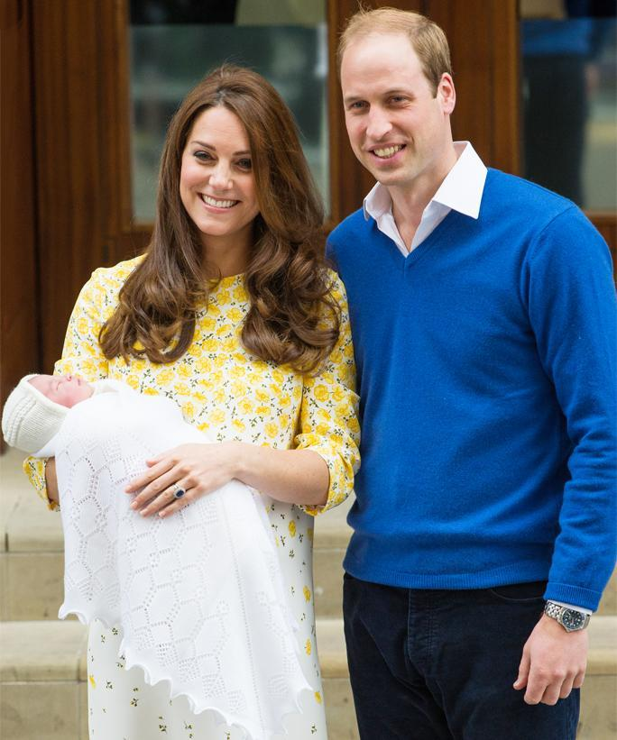 Duke And Duchess Of Cambridge Depart The Lindo Wing With Thier Second Child