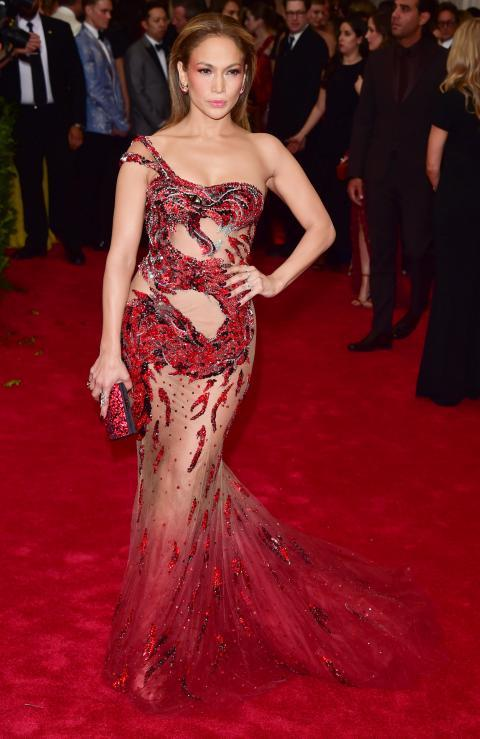 Jennifer Lopez/Met Gala 2015 Dress - Embed 1