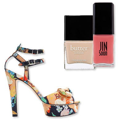 Floreale Heels- The Perfect Pedicure to Pair With Every Summer Sandal