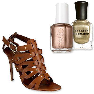 Gladiatore Sandals - The Perfect Pedicure to Pair With Every Summer Sandal