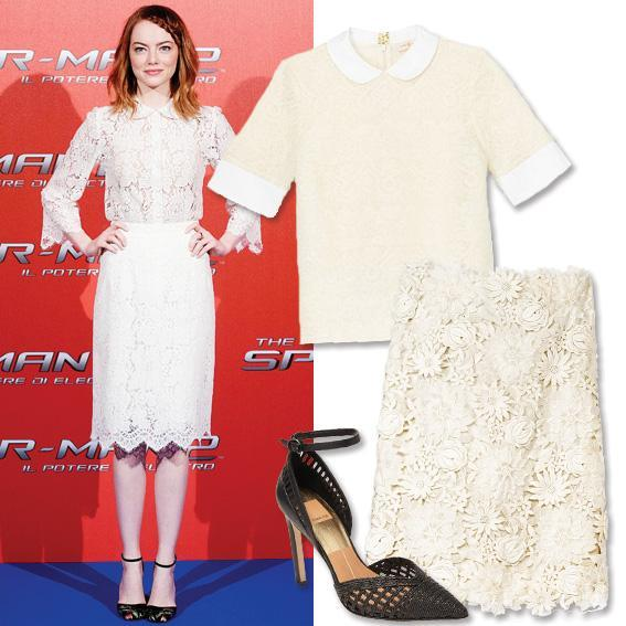 Emma Stone - Summer Work Outfits