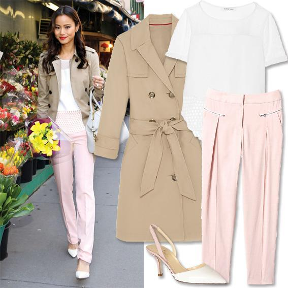 Jamie Chung - Summer Work Outfits