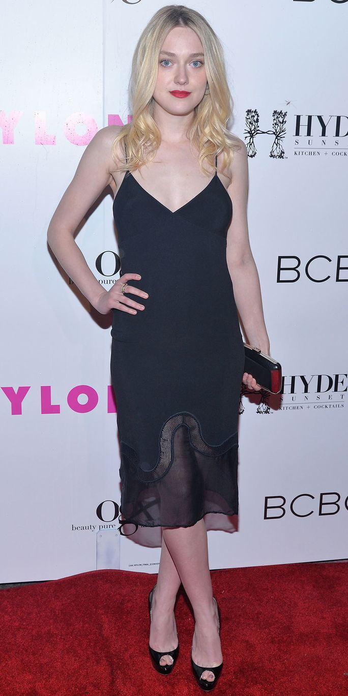 NAILON Magazine And BCBGeneration Annual May Young Hollywood Issue Party Hosted By May Cover Star Dakota Fanning