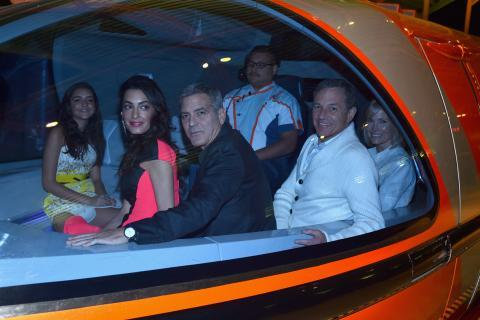 George and Amal Clooney/Tomorrowland Premiere - Embed
