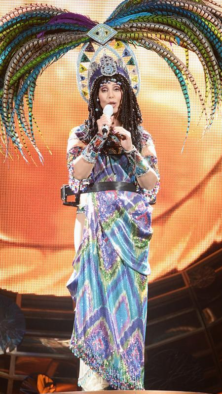 Cher performs at Barclays Center