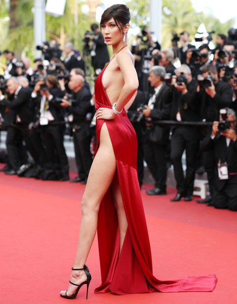 Bella Hadid Red Dress - 3