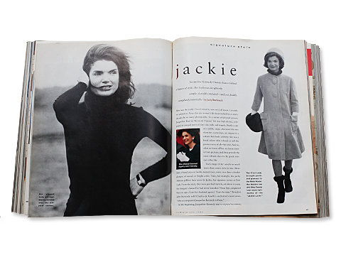 jackie Kennedy Onassis InStyle July 1994