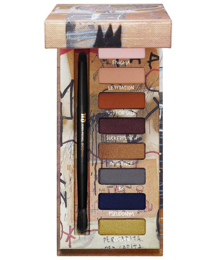 Bandar Decay x Jean Michael Basquiat Gold Griot Eyeshadow Palette