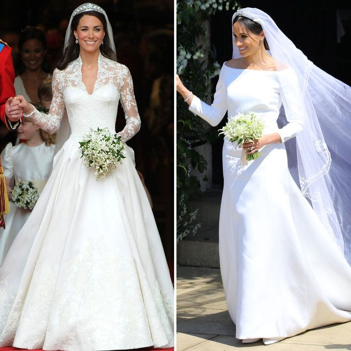 Kate Meghan Wedding Dresses - Embed
