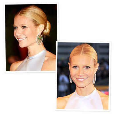 Gwyneth Paltrow's Sleek Bun